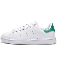 Unisex AD 6 Colors Stan Brand Smith White Green Leather Sneakers Tennis Shoes Men Women Girls Boys Sports Running Shoes