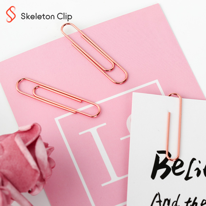 Stationary Paper Binder Clips Office Rabbit Custom Metal Oem Customized Magnetic Logo Style