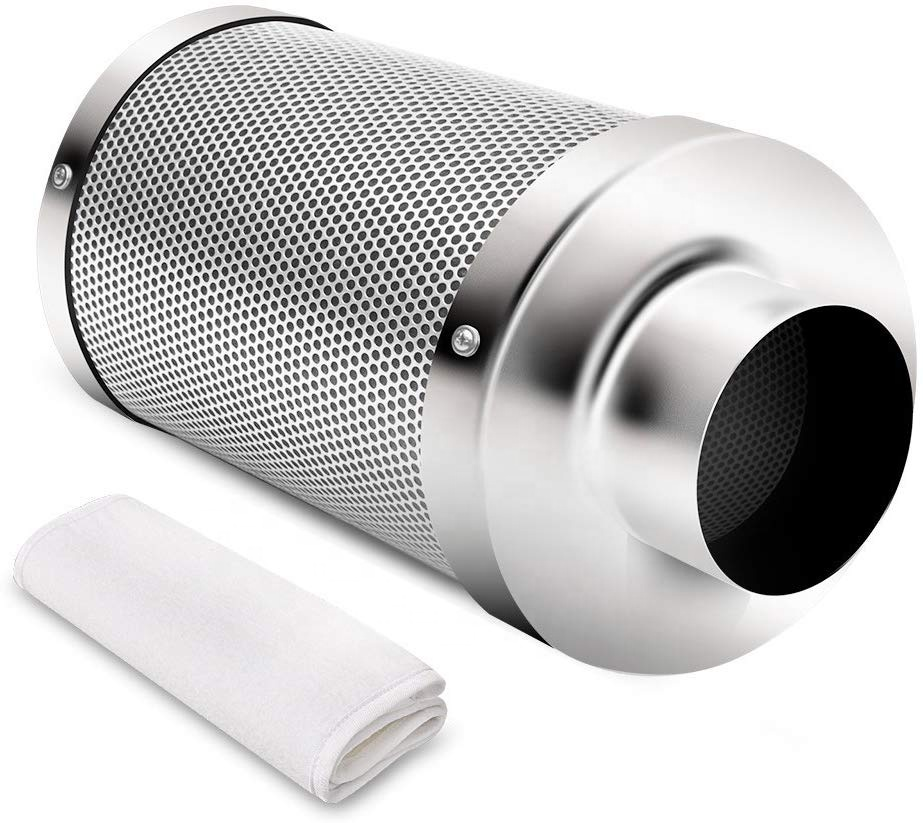<strong>6</strong>&quot; Inch Air <strong>Carbon</strong> Charcoal <strong>Filter</strong> for Odor Control Exhaust Inline Fan