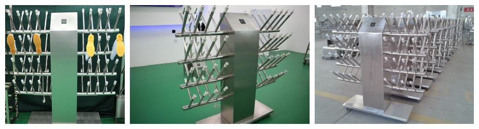 China Selling Industry Stainless Steel Boot Dryer Rack For Farm/factory/slaughter house