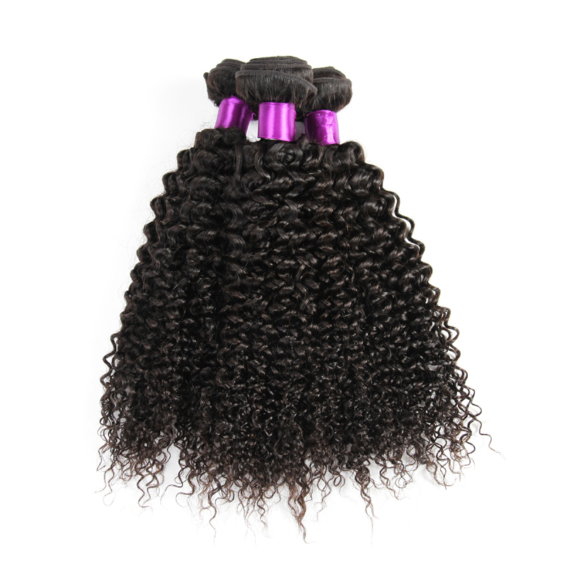 Grade 8A Remy Indian Kinky Curl Human Hair Extension