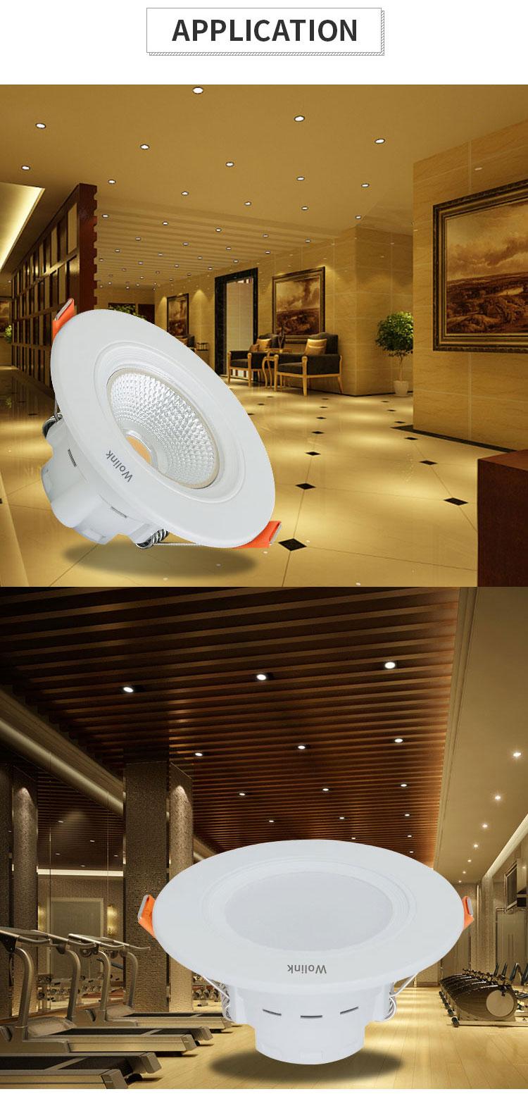 Лидер продаж супермаркет Освещение Заподлицо украшения встраиваемые RGBW 3 Вт светодиодные светильники