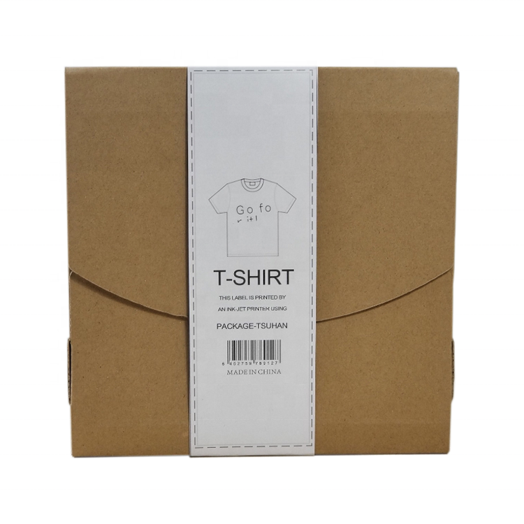 Wholesale T-shirt Packaging Envelope Custom String Envelope Kraft Envelope With Gusset