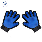Siliconehair Removal And Grooming Massage Glove Remover Gentle Pet Grooming Glove Brush