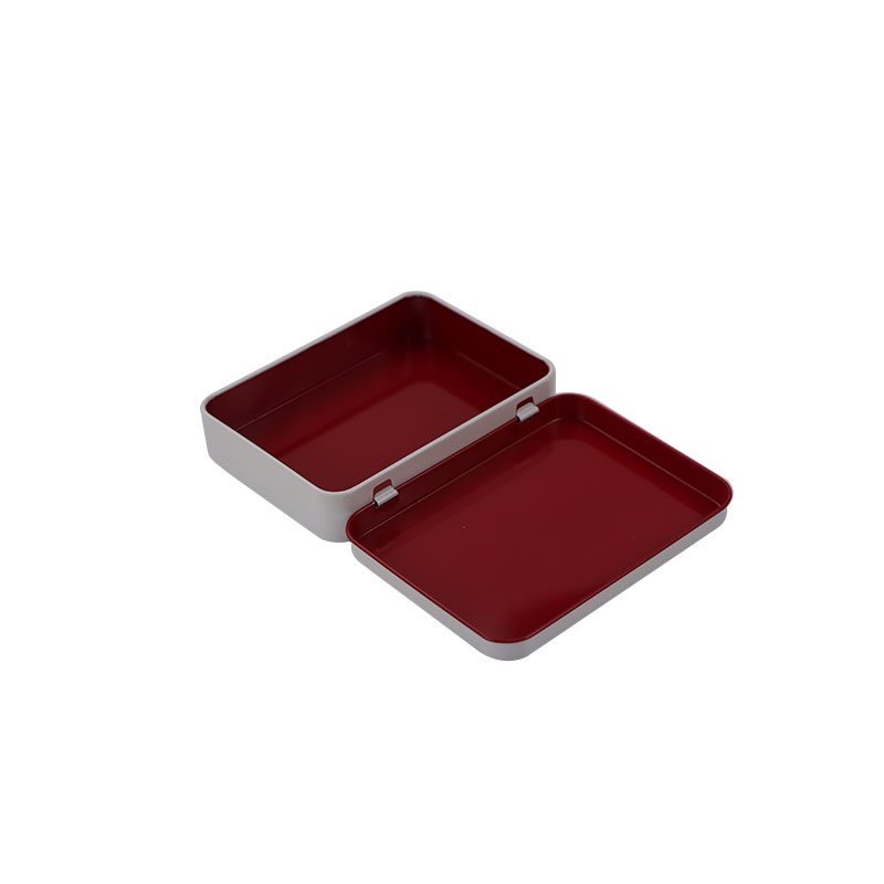 2020 hot sale square hinge tinplate box nail clippers hardware gadget packaging box