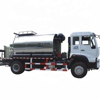 Road construction Asphalt sprayer machine,asphalt distributor truck,5000L 6000L bitumen emulsion sprayer for sale