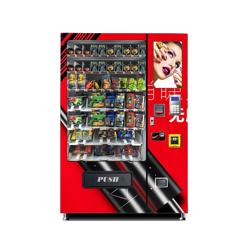 Top sales eye lashes vending machine with advertising screen monitor