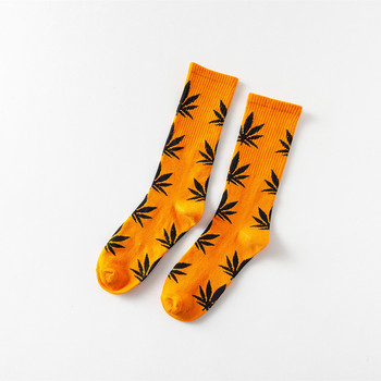 Hot Selling Weed Leaf Customized Cotton Organic Weed Socks