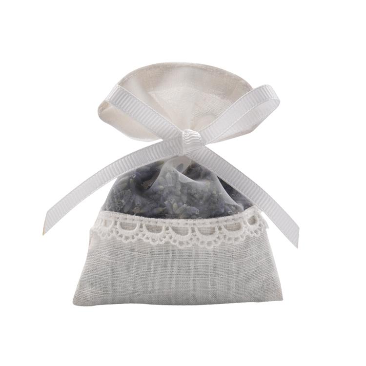 Custom wholesale small aroma fragrant cotton car lavender scented sachet