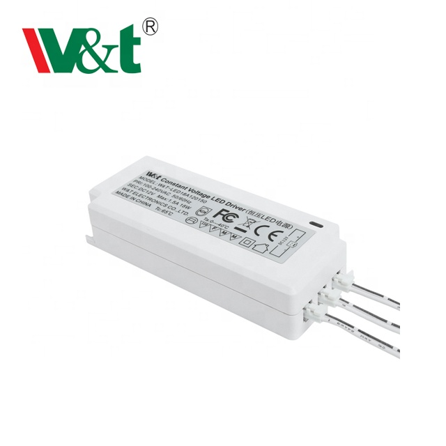 Ultra Slim Constant Voltage 6W 12W 18W 24W 45W 60W 12V 24V Cabinet LED light LED driver