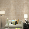 Gline ready to ship 40cmx500cm khaki color 3d pvc fabric texture self adhesive wallpaper decoration