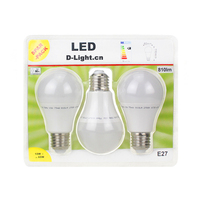 Wholesale led light bulbs A60 white pear 10W E27 B22 daylight Led Home Lighting for Home Office Hotel , LED-A60