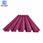 aisi carbon steel corrugated roofing colored sheet
