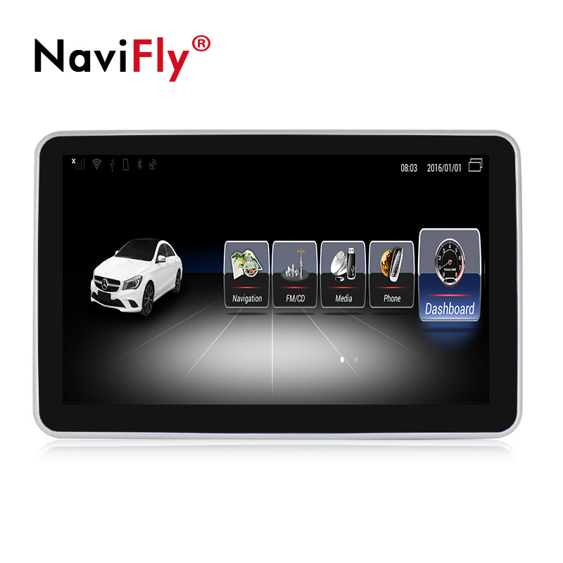 "Navifly 9 ""Unico UI Android 7.1 3 + 32GB Quad Core 4G LTE Car Audio Lettore Dvd android per Benz Classe B W246 2013-2019 WIFI GPS"