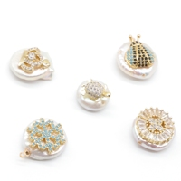 various shapes freshwater baroque pearls pendant accessories women jewelry earring necklace