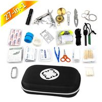 Emergency 10 In 1 Multifunctional Whistle earthquake survival kits outdoor first aid kit bag