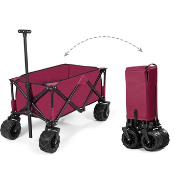 Wagon Garden Cart Ping Trolley
