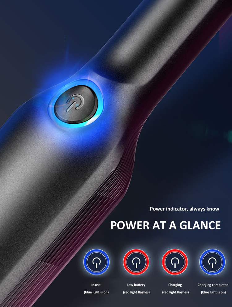 Portable car vacuum cleaner with powerful brushless car vacuum cleaner