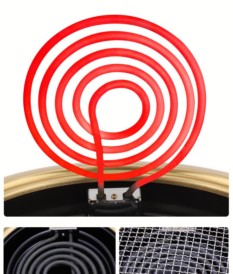 PINNIU מנגל יפני yakiniku תנור חשמלי מנגל גריל עישון ברביקיו מקורה גריל עבור מסעדות