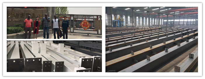 China light structural Steel frame shed industrial prefabricated factory