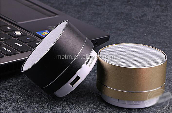 A10 Custom logo portable wireless BT speaker