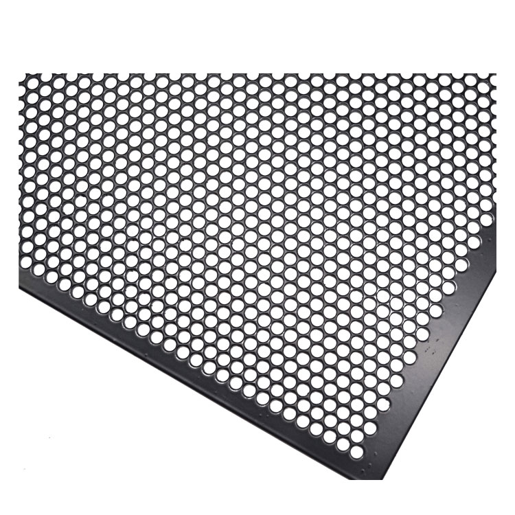 Speaker grills aluminum perforated metal sheet