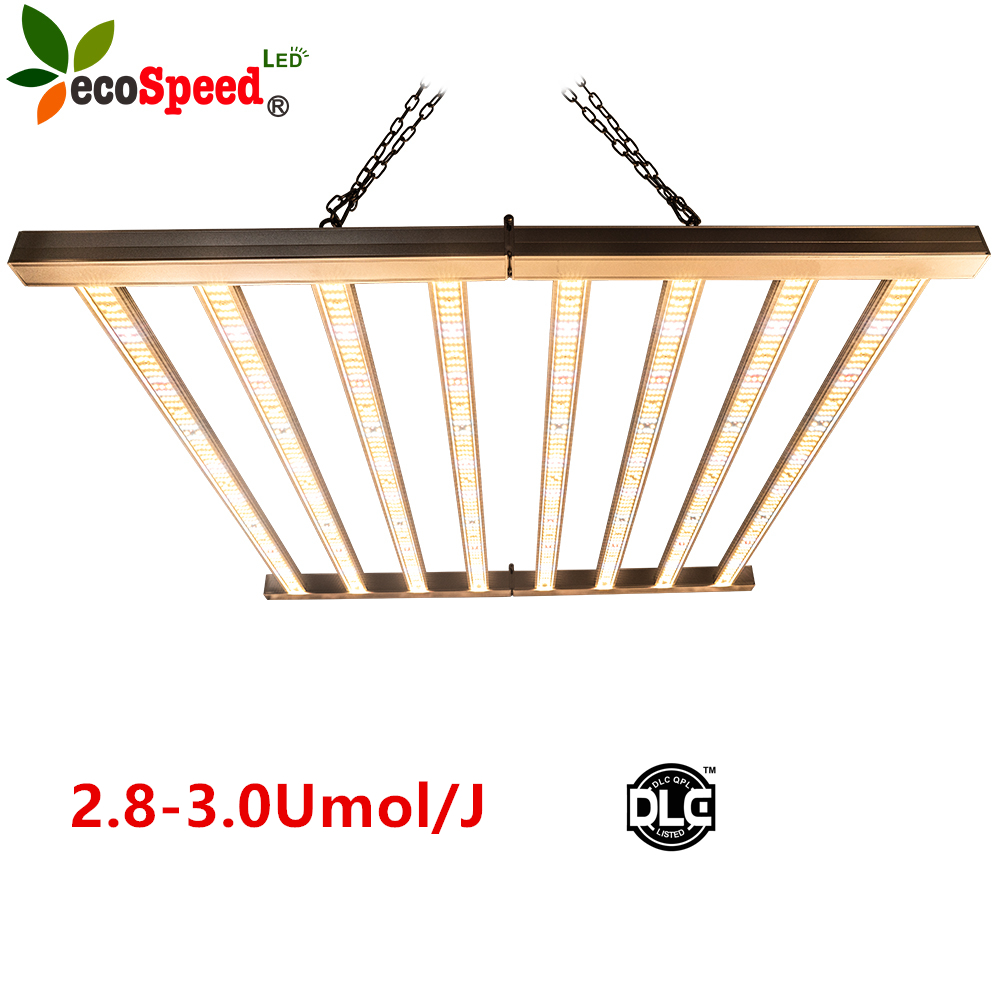 USA ETL DLC best sale full spectrum RJ14 timer dimmable port 1000w energy garden grow light bars 600watt 1200watt
