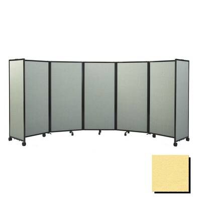 Custom Surface Aluminum Frame Partitions Mobile Stand Folding Privacy Room Divider Screen For Office School Home