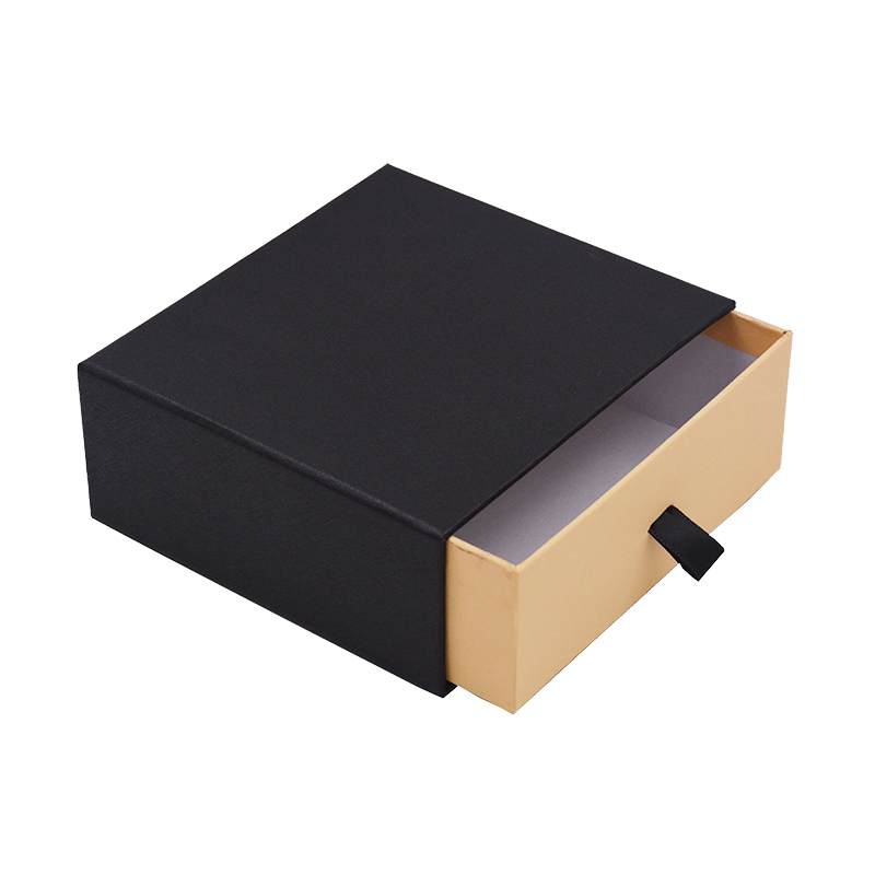 Custom Logo Printed Retail Paper Drawer Box  Packaging For Jewelry Ring/Bracelets/Earring Gift Cardboard Box Design