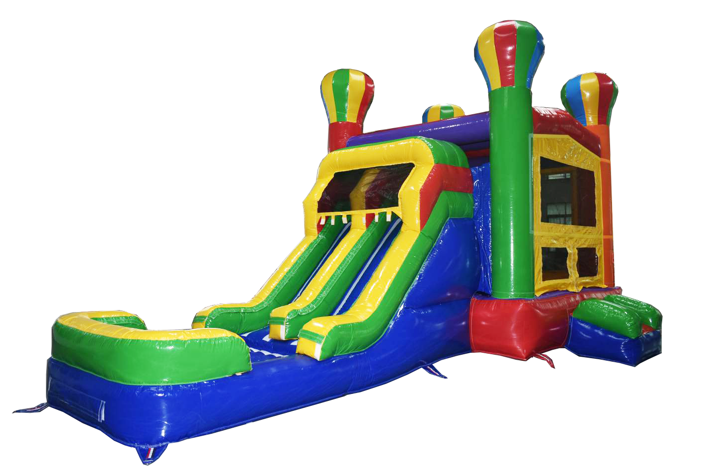 Module commercial inflatable bouncer with prices,inflatable bouncy castle with pool ready to shipping