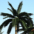 High Temperature Resistance Anti-UV Artificial Plants Leaf Artificial Fake Fan Coconut Palm Tree Leaves