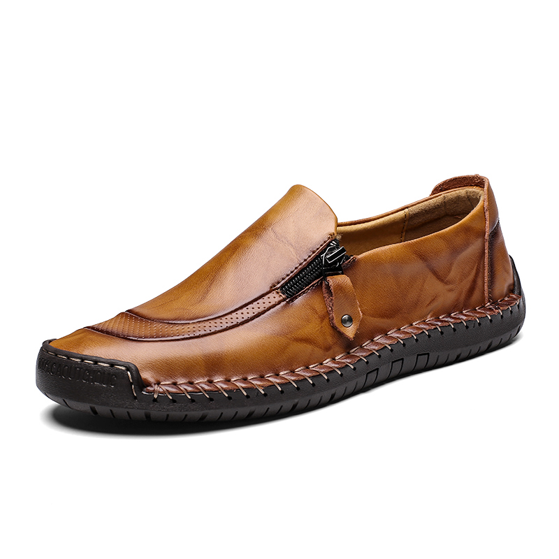 italian casual office shoes men genuine+leather+shoes