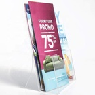 Clear Acrylic Brochure Holder for office,Mall