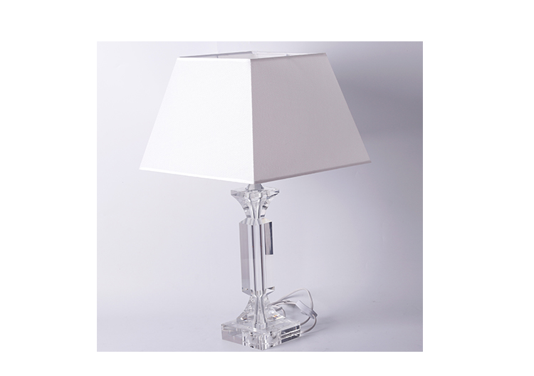 Hot sale bedroom crystal table lamp nordic Luxury hotel desk lamp