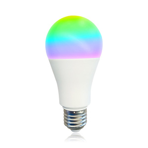 Smart light bulb alexa google home controlled by the Tuya app 16 Million Colors Works With 2.4ghz Wi-fi Network