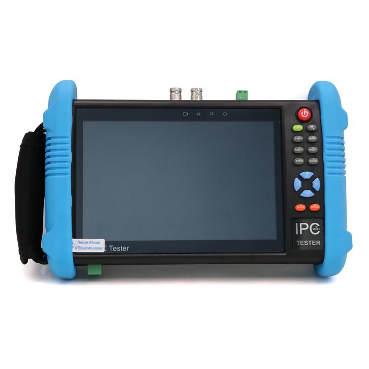 AHD(A)/CVI(D)/TVI(H) CVBS support 4K H.265 IP camera tester IPC-9800ADH Plus