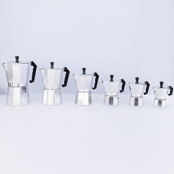 Cheapest Hihg Quality 1/2/3/6/9/12/14cup Italian Coffee Maker Moka Gas Coffee Maker For Home And Outdoors
