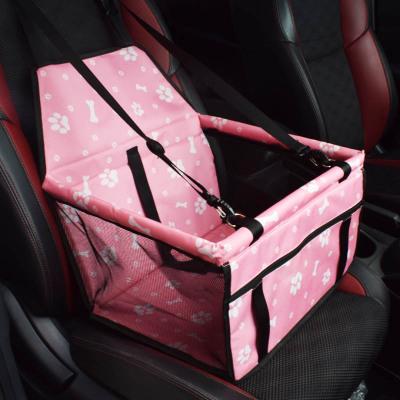 Seguridad mascotas bolsa de asiento de coche portador adecuado Pequeño medio perro cachorro de asiento de coche