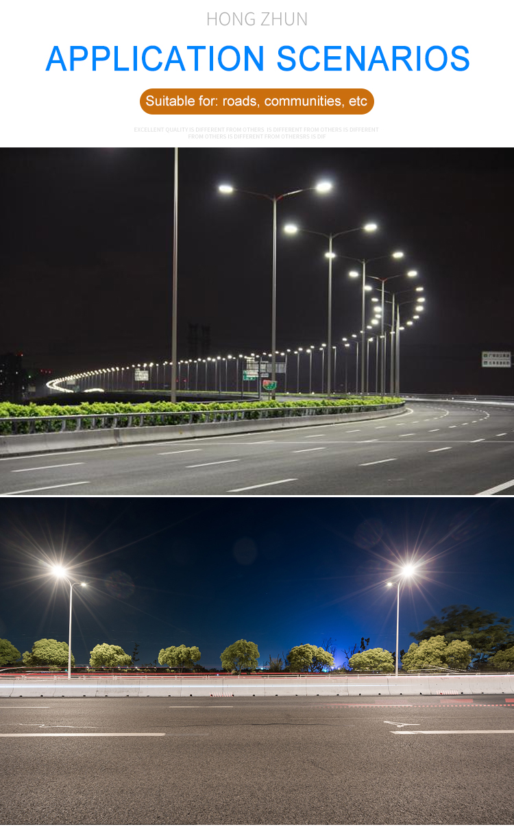 Hot sale ip65 outdoor waterproof Aluminum SMD3030 120w led street light