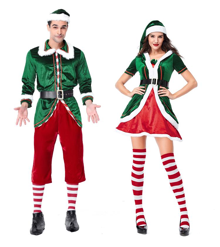 new sexy christmas costume men christmas santarina costume