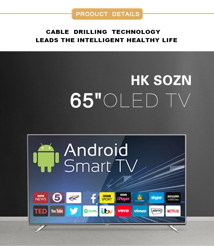 OLED Monitor China manufacturer 65'' 4k Smart TV
