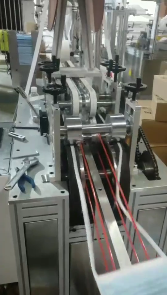 Gute qualität Spitze-up 3ply medizinische chirurgische Einweg maske Maschine Ausrüstung vlies Maschine