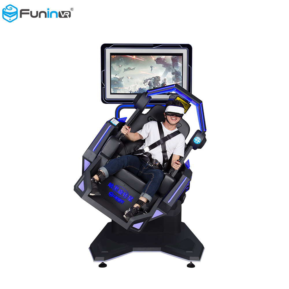 FuninVR Factory direct sale 360 720 degrees rotation 9Dvr Virtual Reality flight simulator