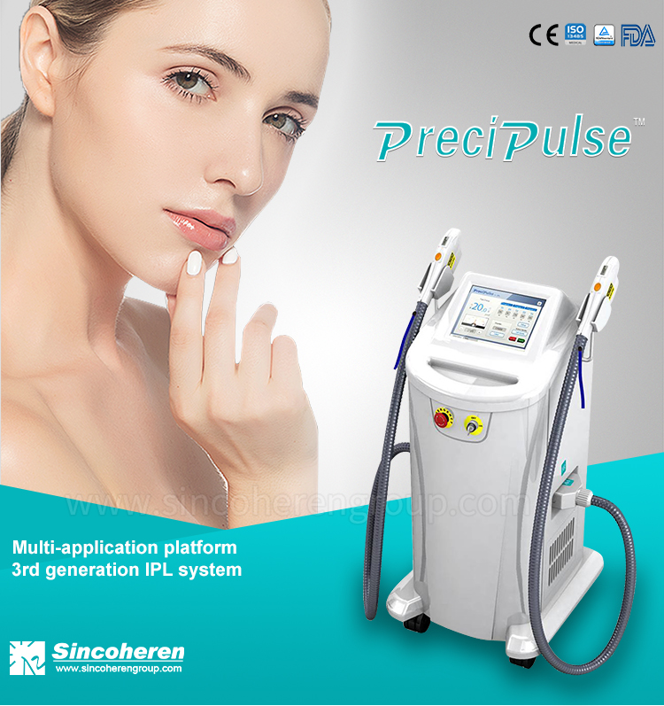 Best selling  Medical CE approved face hair removal cream ipl laser machine for women
