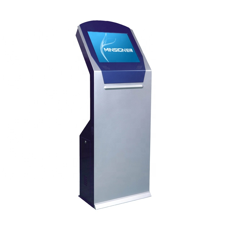 Queue management Payment Touch Kiosk OEM Self-service All In One Machine Multi-function Ticket Printer