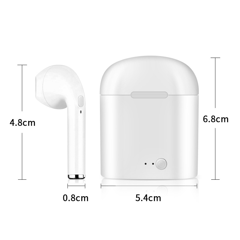 Hot Selling I7s Mini Wireless Headphone With Charging Case In ear  Chip V4.2 EDR  i7s for Mobile phone