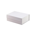 Bespoke large white magnetic folding retail gift packing box wholesale
