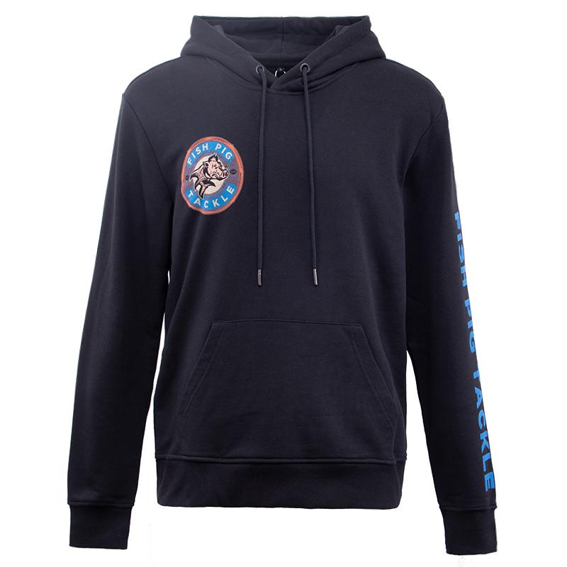 Wholesale High Quality Custom Mens Blank Black Cotton hoodies