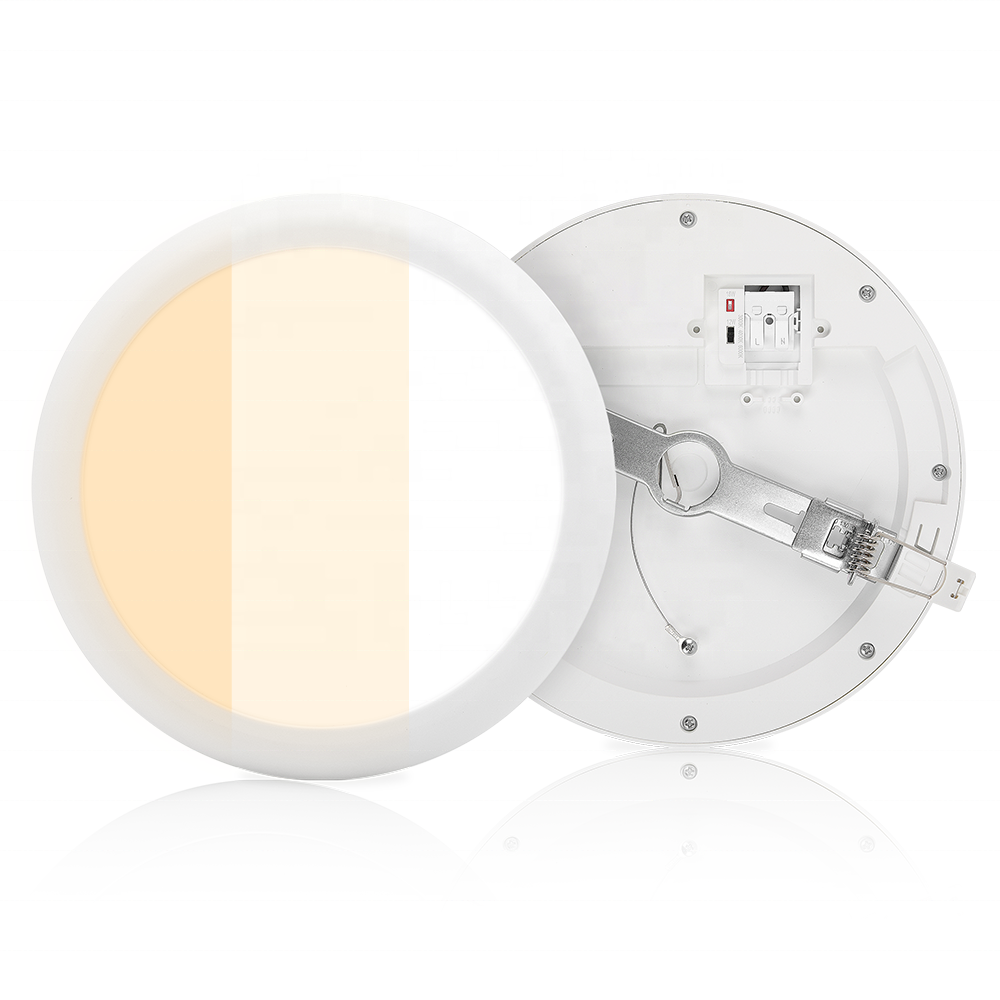 IP44 3CCT 12W 18W Round Square Slim Recessed Surface mounted Ceiling LED down light downlight