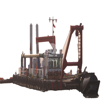 DINGKE 4500m3/h cutter suction sand dredger/dredge/dredging machine / ship/ boat/vessel